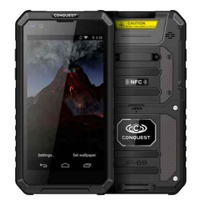Conquest S10 защищенный смартфон с мощной батареей